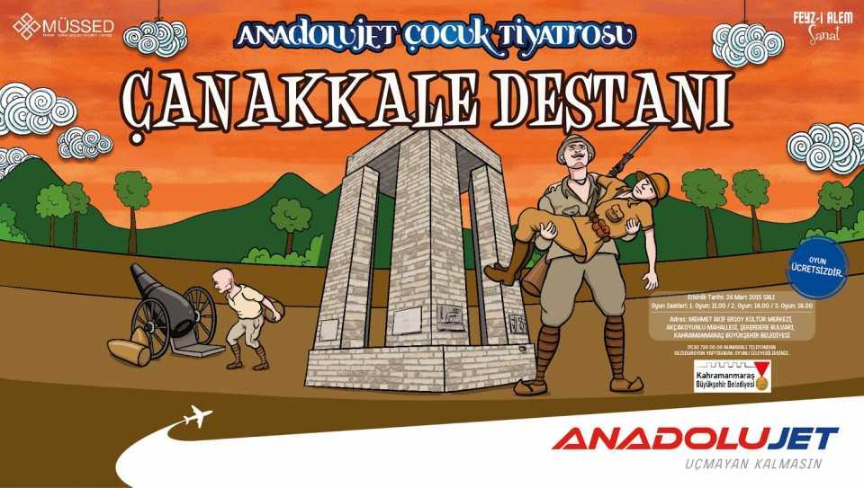 AnadoluJet Çocuk Tiyatrosu Kayseri'de 30